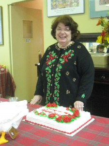 We also got to wish Chairman Virginia Van Cleave a very happy birthday!